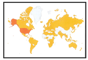 Operation Matters has readers in 129 countries