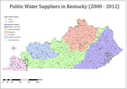 Public Water Suppliers in Kentucky
